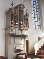 Scheveningen, Dutch reformed Oude Kerk, choir organ  (2004)